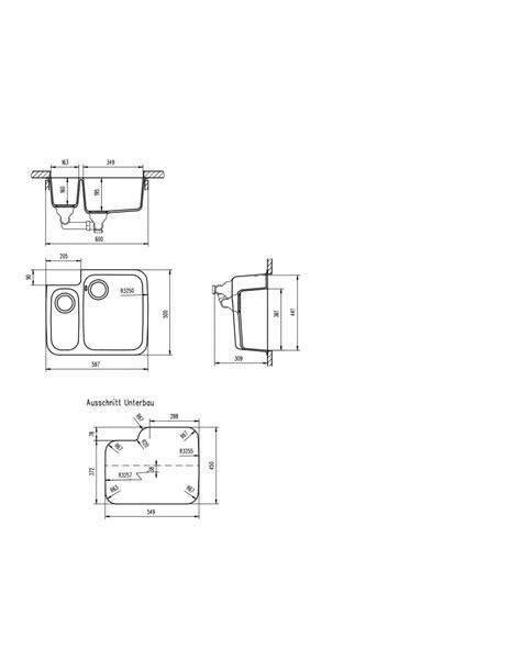 Schock Solido N150 Cristalite  Undermount Sink 1.5 Bowl 4