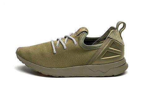 adidas olive flux zx adv cargo sneaker asphalt shoes gold hypebeast
