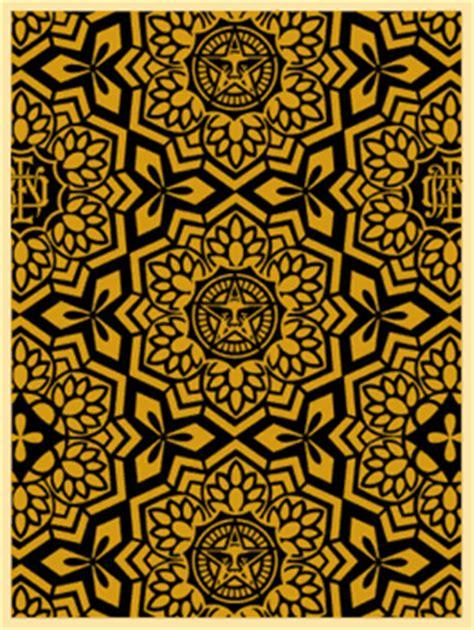 yen pattern black  gold  giant  definitive
