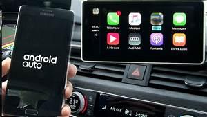 Essai Audi A4   Carplay Ou Google Android Auto  Le