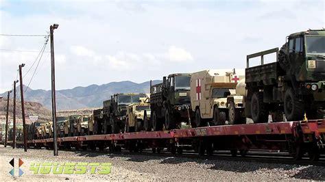 US Military Convoy, BNSF Railway - YouTube