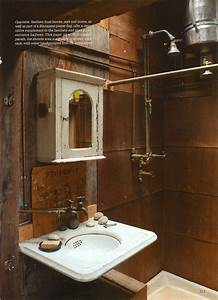 Exposed plumbing a room for bathing pinterest plumbing for Exposed bathroom plumbing