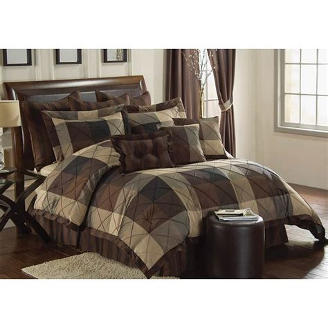 oversized king comforter sets vcny carlton oversized king size 10 comforter set