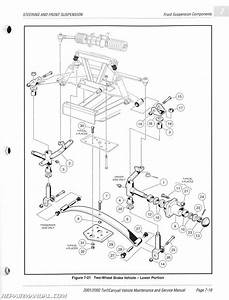 Parts Manual For Club Car Golf Cart 2001