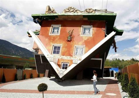 Umgedrehtes Haus Design Zieht Viel Aufmerksamkeit Auf Sich An