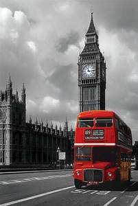 London Red Bus Poster EuroPosters