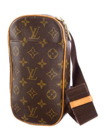 louis vuitton monogram sling bag handbags lou  realreal