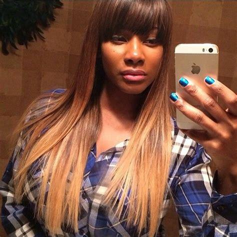 27 best full fringe hairstyles images on pinterest full