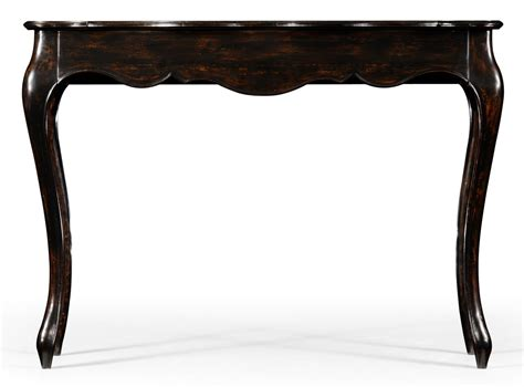 distressed black console table french provincial style distressed black painted console table