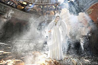 beautiful angel woman  theatre royalty  stock image