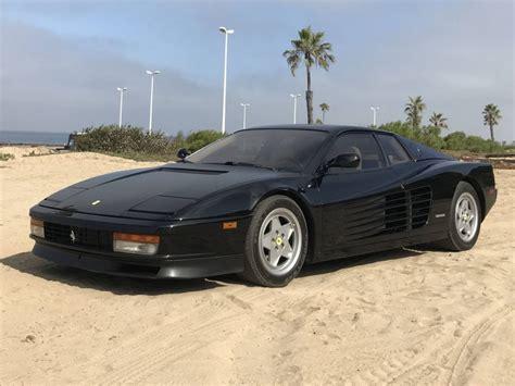 Black Testarossa by Stunning Black 1990 Testarossa For Sale