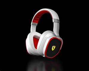 The Ferrari Cavallino T350 Over Ear Headphones