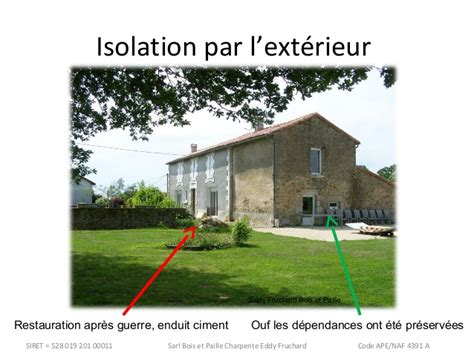 conf 233 rence isolation maison ancienne et perspiration