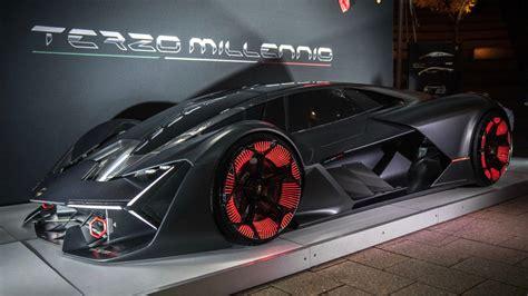 lamborghini unveils  future sports car  emtech mit