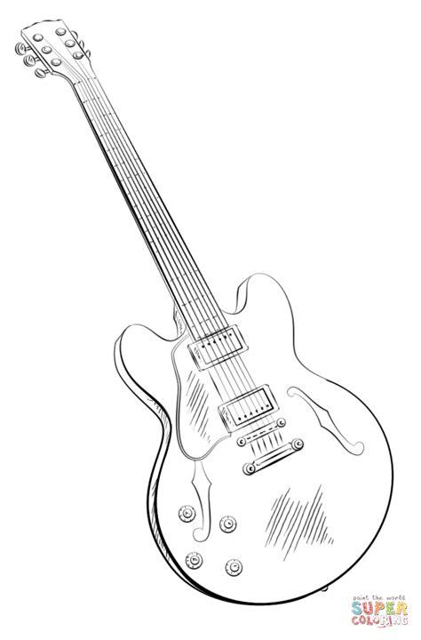 ausmalbild elektronik gitarre ausmalbilder kostenlos