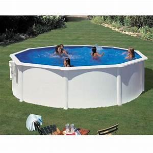 Piscine En Acier : piscine ronde en acier bora bora d 3 x h m gr ~ Melissatoandfro.com Idées de Décoration