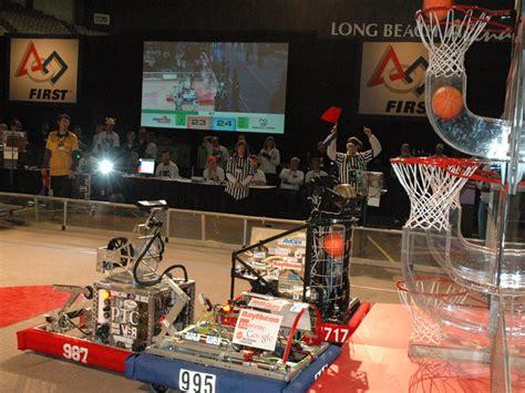 nasa robot basketball