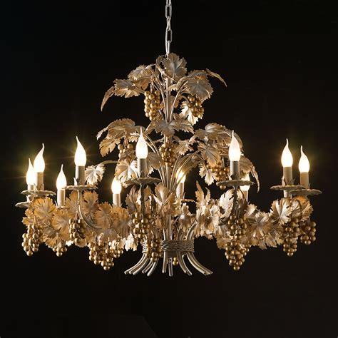 Gold Chandelier by Unique Italian Design Gold Chandelier Juliettes