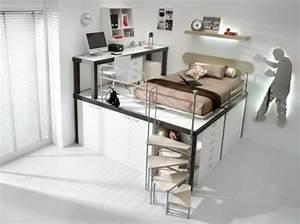 Betten Für Teenager : teenager zimmer 55 ideen f r eine moderne einrichtung ~ Pilothousefishingboats.com Haus und Dekorationen