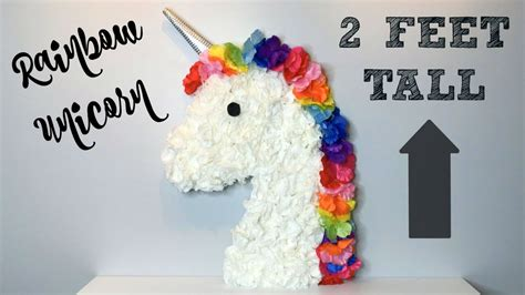 diy dollar tree unicorn   youtube