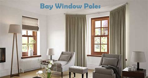 at uk curtain poles we bay window curtain poles 5