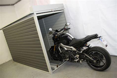 Feste Motorradgarage Motorrad Garage Box Rolltor Kompfort