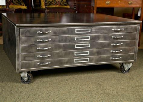 flat file cabinet steel flat file cabinet at 1stdibs
