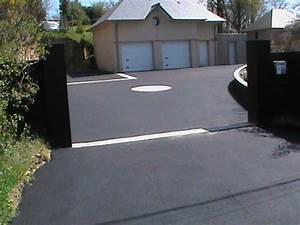Taches Noires Sur Pavés Autobloquants : enrob noir et motifs pav s granit savenay otpe ~ Melissatoandfro.com Idées de Décoration