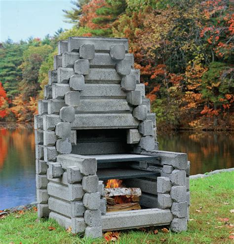 16+ Gorgeous Fireplace In The Backyard