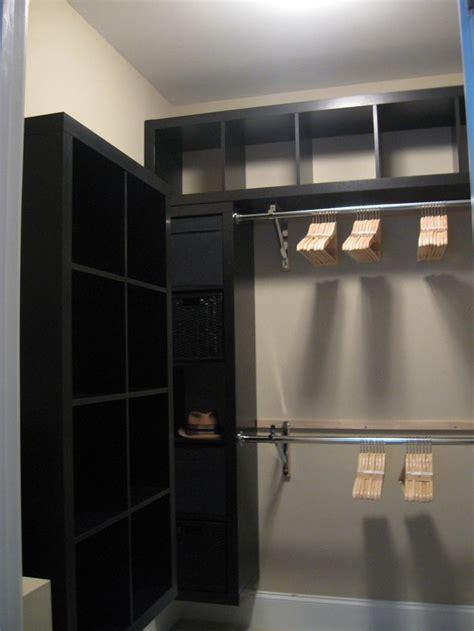 ikea walk in closet design ikea expedit closet hack ikea hackers expedit closet small walk in closet pinterest