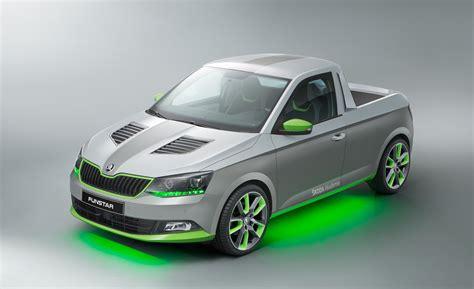 Škoda Debuts Superrad Funstar Minipickup Concept News