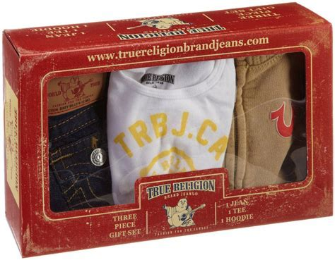 (Discounted) True Religion Unisex Baby Infant Baby 3 Piece