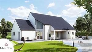 Maison En L Moderne : lenae maison moderne en l ~ Melissatoandfro.com Idées de Décoration