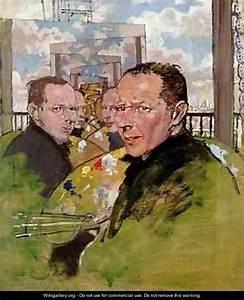 Self Portrait, c.1924 - Sir William Newenham Montague ...