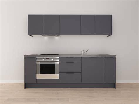 Standarta virtuve tumši pelēka - Skandināvu Virtuves
