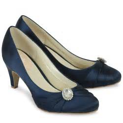 satin wedding shoes pink paradox harmony navy blue satin shoes wedding shoes bridal accessories