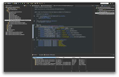 eclipse color theme juno by rogerdudler