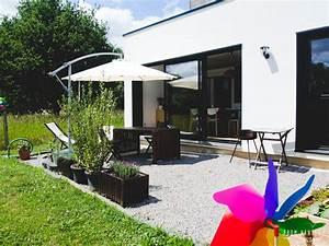 Feutre Sous Gravier : feutre g otextile sous terrasse bois ~ Premium-room.com Idées de Décoration