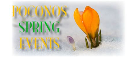 The Best 2020 Spring Events in the Poconos