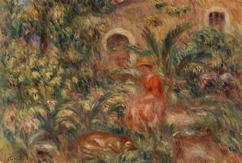 Barnes Foundation — Renoir Father And Son Painting And