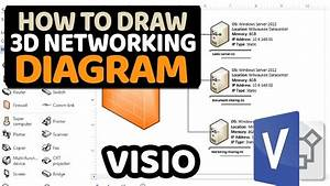 How To Create 3d Networking Diagram In Microsoft Visio