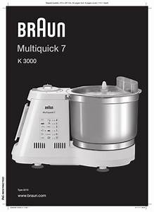 Braun Multiquick 7 K3000 User Manual
