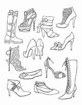 Coloring Shoes Colouring Heels Adults Wellie Wishers Shoe Printable Adult Drawing Shopkins Getdrawings Heel Those Getcolorings Sketches Ever sketch template