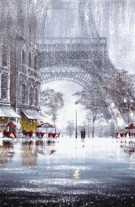 sous la neige cest trop beau  paris  love