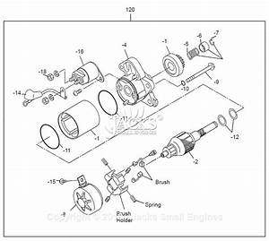 Robin  Subaru Ex13 Parts Diagram For Starter Motor