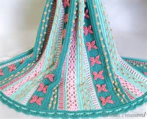 Mermaid Crochet Pattern Throw Blanket
