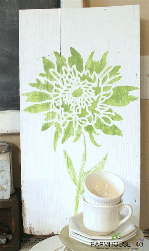 stencil design challenge diy bloggers complete upcycled