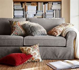 pb comfort roll arm slipcovered sofa collection pottery With pottery barn sectional sofa covers