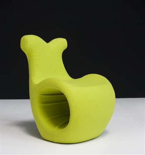 snail inspired furniture helix chair  karmelina martina