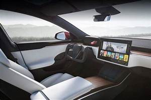 New Tesla Model S revealed with new puzzling steering wheel design - The Financial Express..
